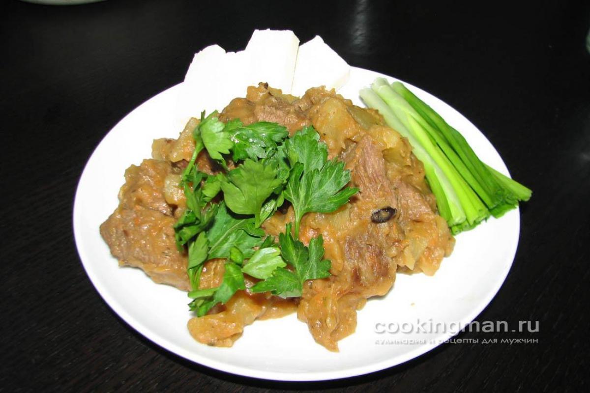 тушеная картошка с мясом в скороварке рецепты с фото